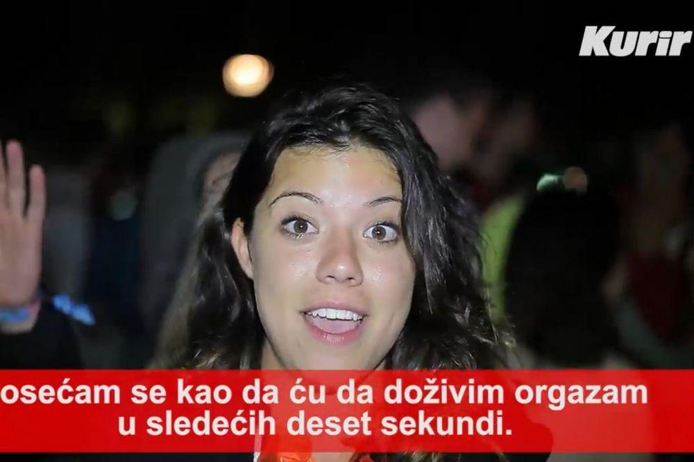 (VIDEO) AMERIKANKA: Exit je kao orgazam!