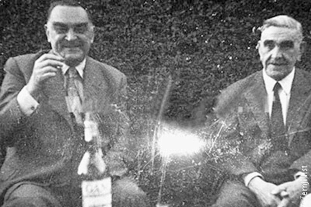 Saradnici Milan Stojadinović i Ante Pavelić