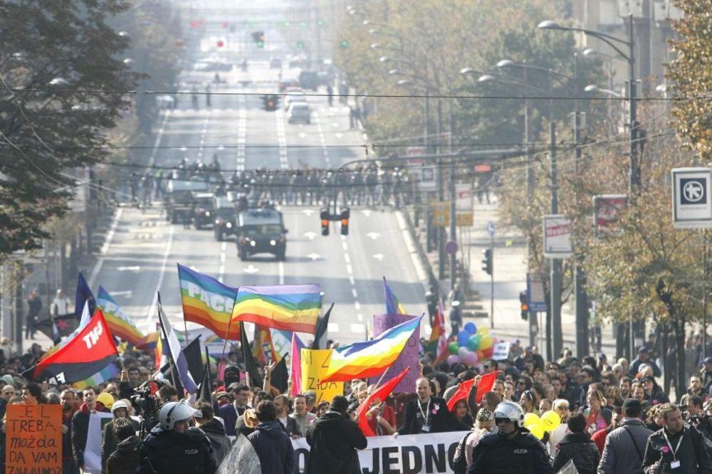 NEMA ŠETNJE: Otkazuje se Parada ponosa zbog štrajka policije?