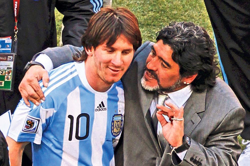 MARADONA BRANI ARGENTINSKU ZVEZDU: Mesi napadaju oni koji nikada nisu pipnuli loptu