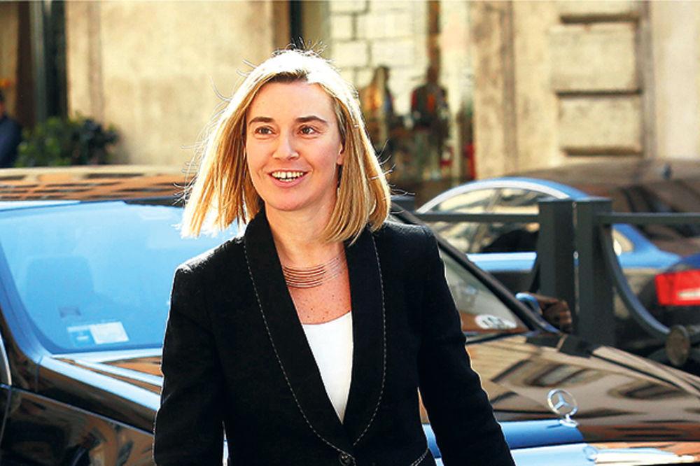 USLOVI EU ZA BG: Šefica italijanske diplomatije danas sa Nikolićem i Vučićem