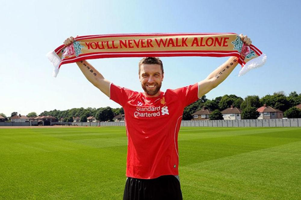 JEDAN JE RIKI: Lambert ušao u istoriju engleskog fudbala predanim radom