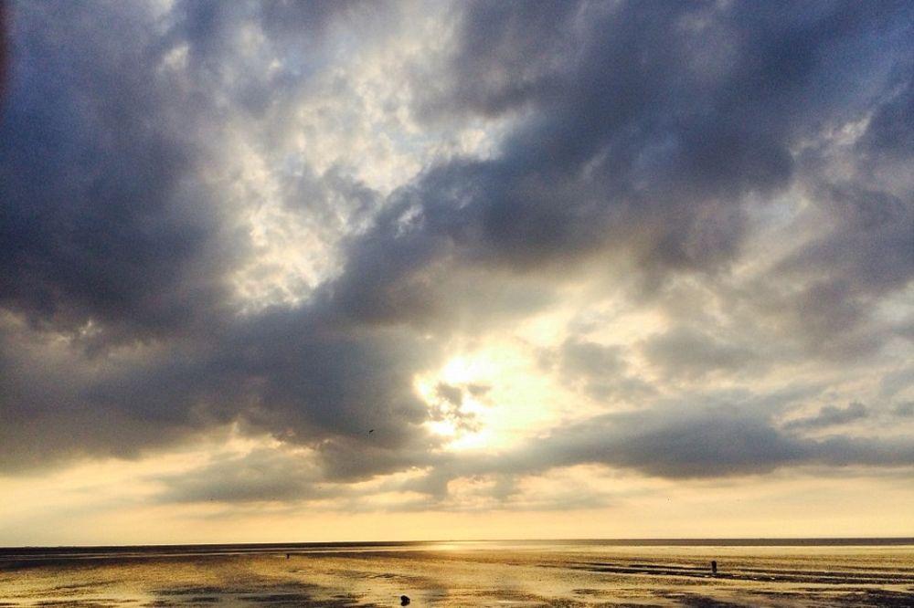 Nebo nad Norflokom foto Dejli Mejl Džeremi Flečer