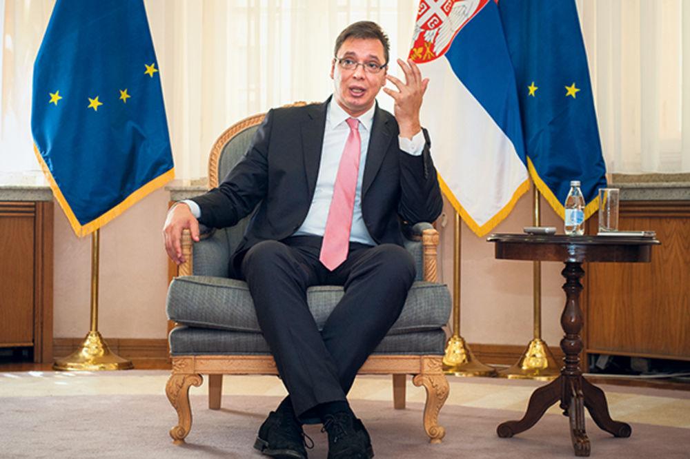 VUČIĆ ZA FAJNENŠL TAJMS: Želimo da stvorimo zdravu i jaku ekonomiju Srbije!