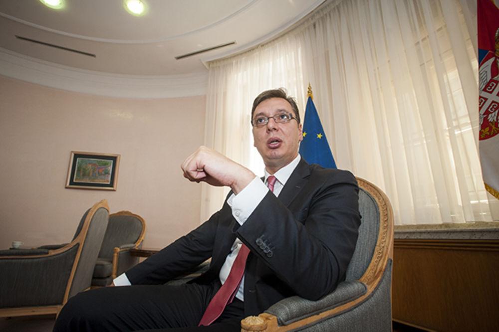 """""""POTREBA ZA GRANDOMANIJOM"""" Vučić u epizodi """"Prvi put u istoriji"""""""