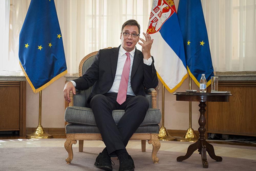 INTERVJU VUČIĆ ZA KURIR: Nismo ni mala Rusija, ni mala Amerika, mi smo Srbija!