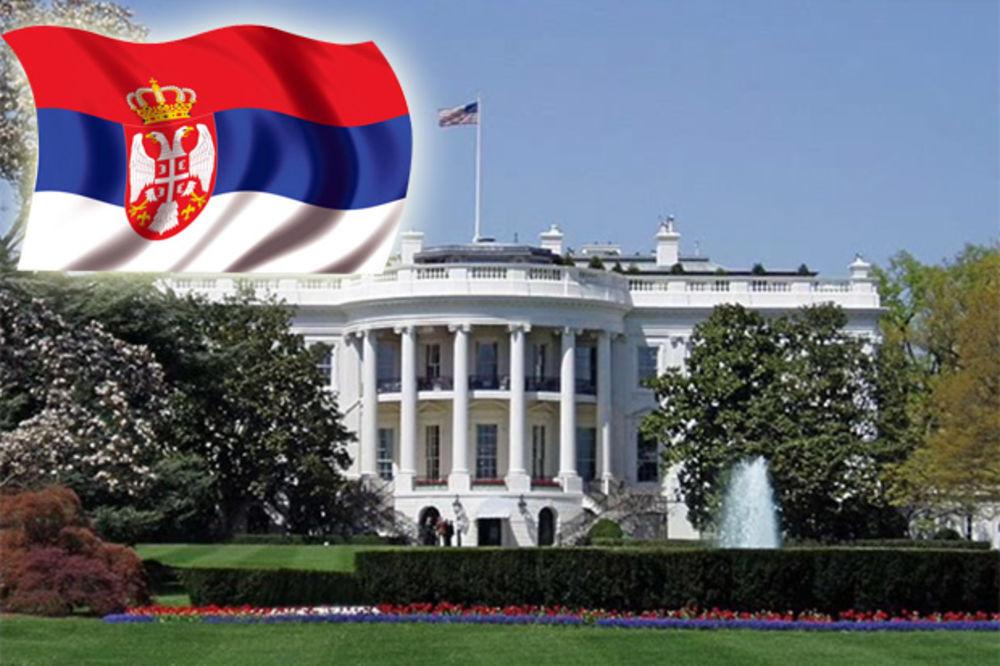 SRPSKA TROBOJKA NA BELOJ KUĆI: Dan kada se zastava Srbije vijorila širom Amerike!