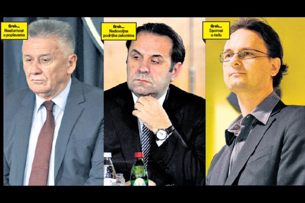 METLA U VLADI: Ilić, Ljajić i Verbić zreli za šut-kartu!