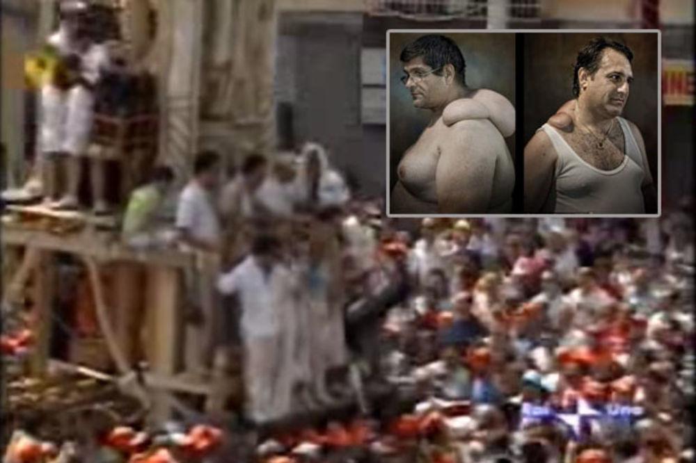(VIDEO) DEFORMISANI IZ ČASTI: Pogledajte šta zbog vere trpe ovi Italijani - i ponose se!