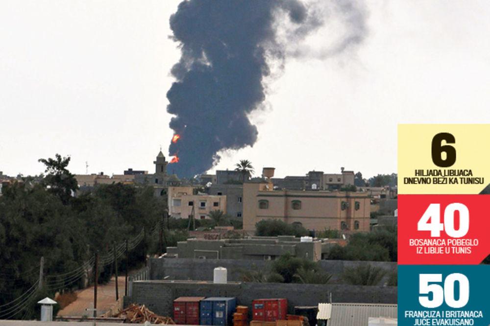 SRBI MOLE: Spasite nas, ne možemo sami da bežimo iz Libije