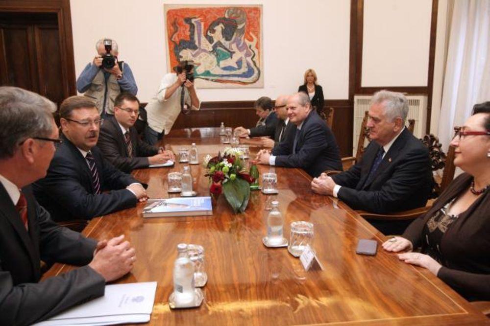 Nikolić i Kosačov: Srbiju i Rusiju vezivaće budućnost
