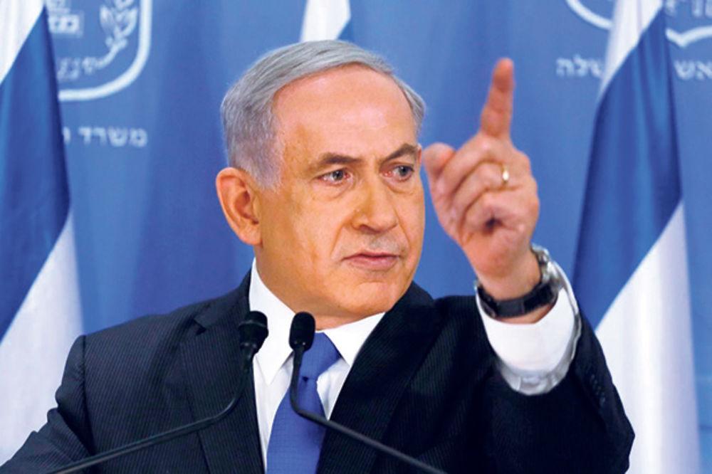 NETANJAHU ZAPRETIO: Ako opet budem premijer Palestine neće biti!