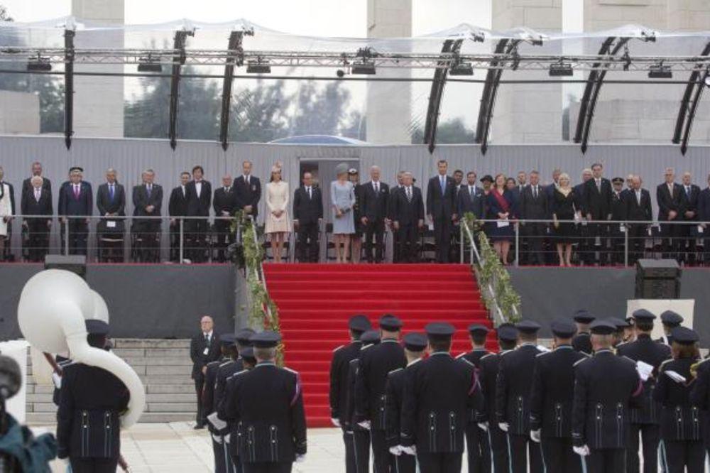 Nikolić u Belgiji na komemoraciji stogodišnjice Velikog rata