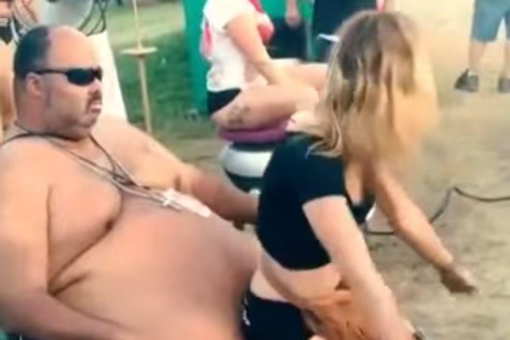 POGLEDAJTE: Da li je ovo zaista ples u krilu?