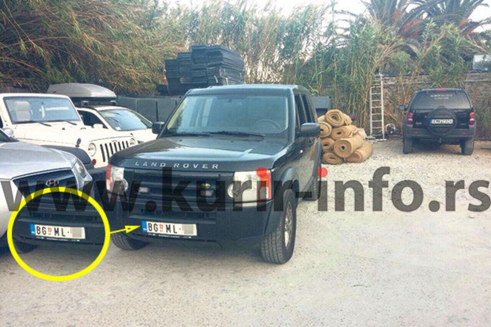 Dovezao kola iz Srbije... U Grčkoj sa BG tablicama