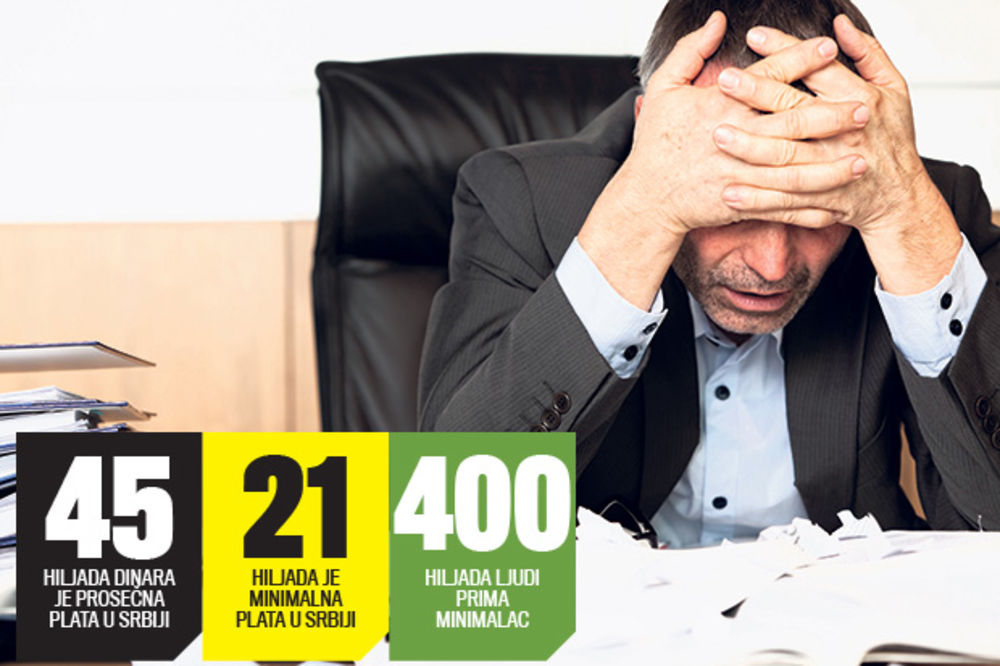 CRNI SCENARIO: Plate smanjiti 25, a penzije 20 odsto