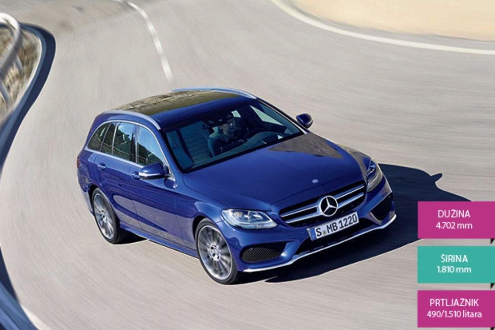 PORODIČNI LUKSUZ: Mercedes C klase