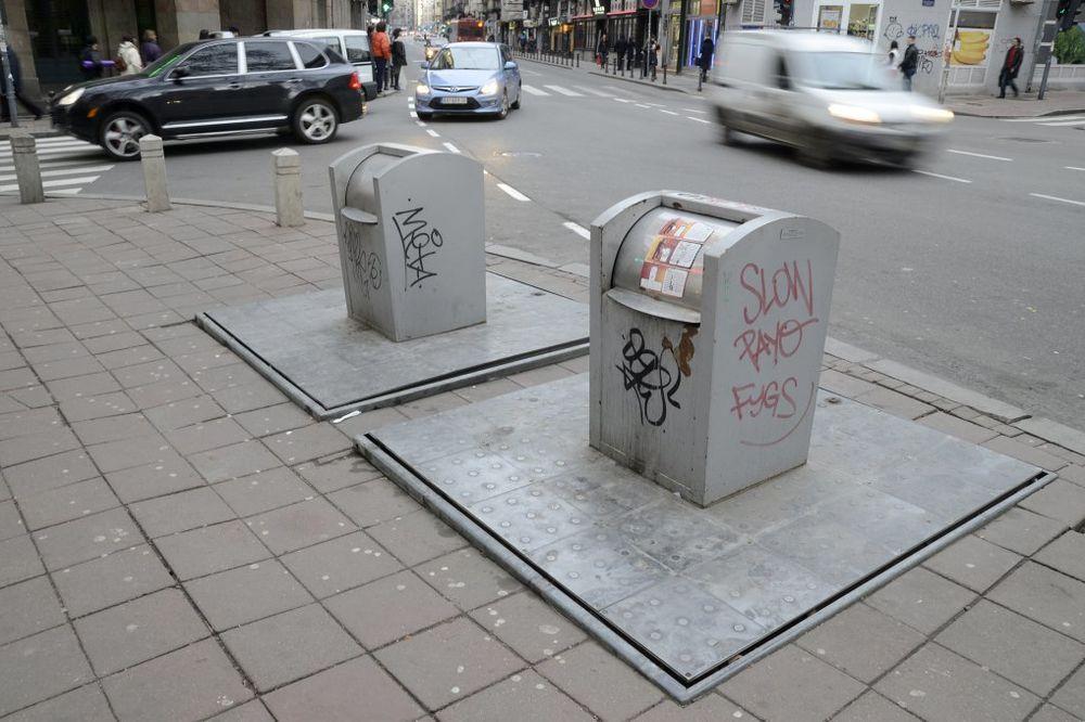OSAM MILIONA DINARA: Gradska čistoća popravila 137 podzemnih kontejnera!