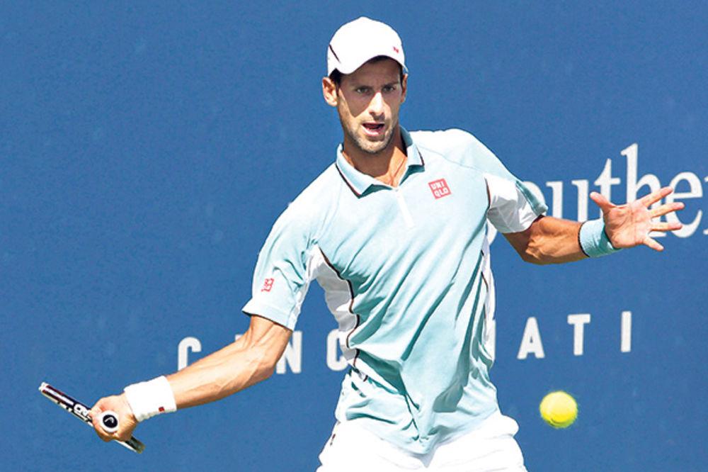 OSVAJA I SINSINATI: Novak želi zlatni masters