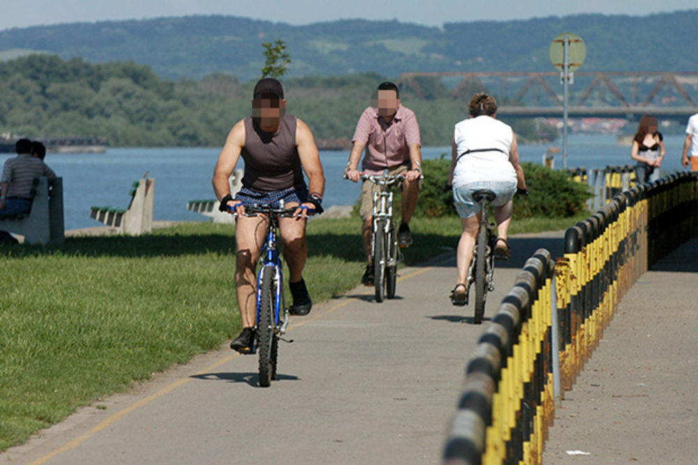 DO PEFKOHORIJA VOZILI NA PLUS 46: Biciklima prešli 605 km do mora