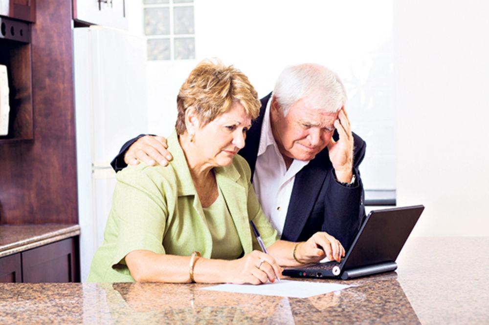 Penzije ipak niže za 20 odsto