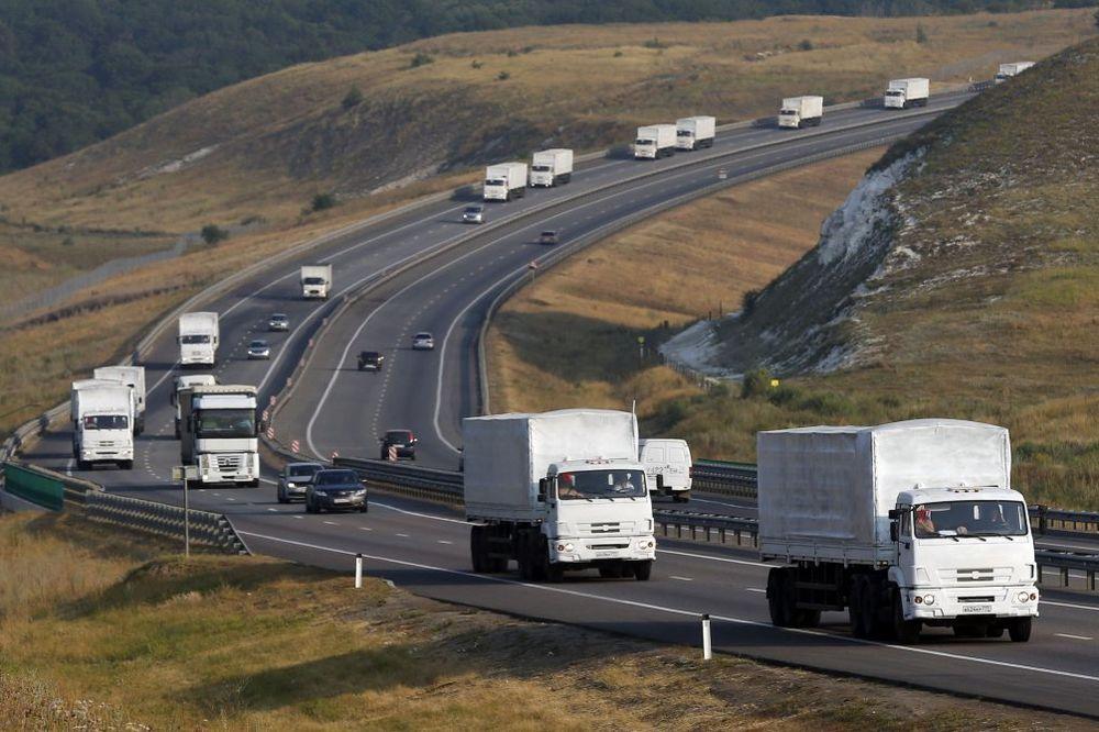 NOVA POŠILJKA: Rusija šalje u Ukrajinu nov konvoj humanitarne pomoći