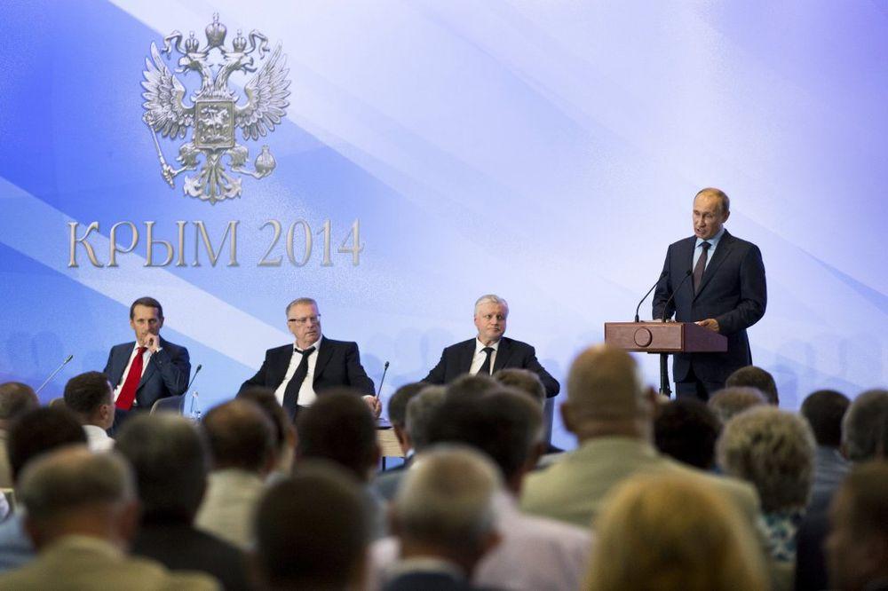 VLADIMIR PUTIN: Rusija će učiniti sve da se okonča bratoubilački rat