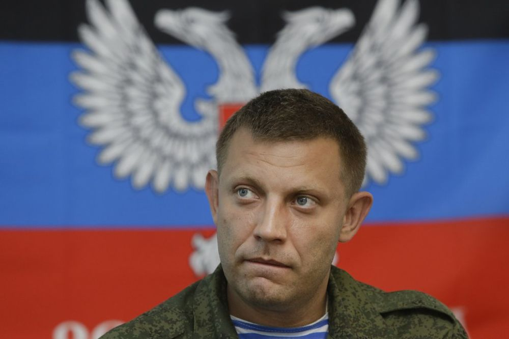 Alexander Zakharchenko, AP Photo