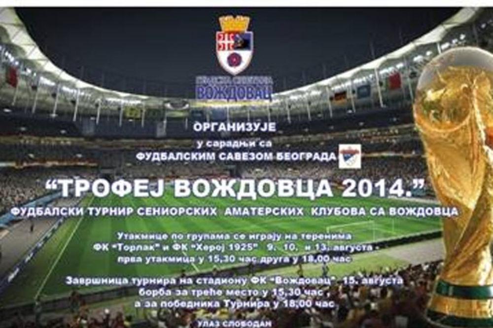 """Završnica turnira """"Trofej Voždovca 2014"""" na stadionu u Voždovca"""
