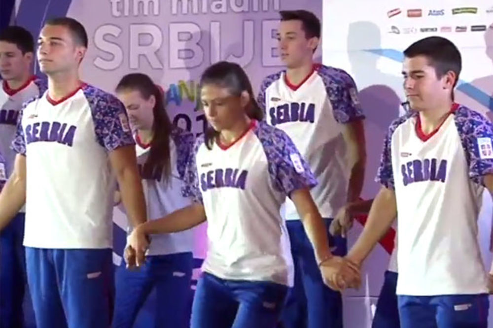 (VIDEO) SRPSKI ŠOU TAJM: Pogledajte kako naši olimpijci igraju Moravac