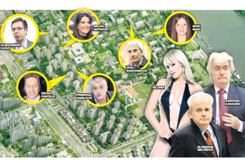 VIP BLOK 45: Sloba Milošević, Jellena i Keka bili prve komšije!