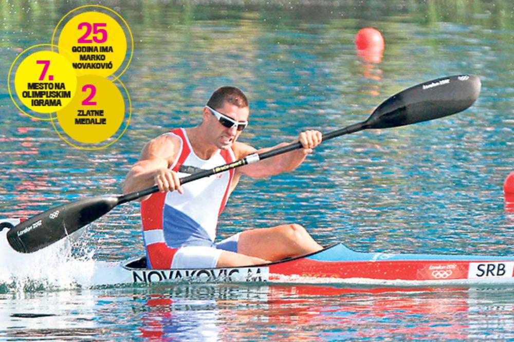 NEUSTRAŠIVI KAJAKAŠ: Marka Novakovića ostavili roditelji, a postao prvak sveta!