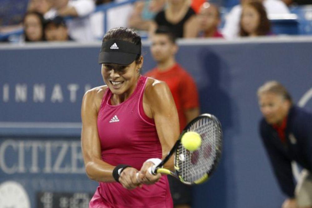 IVANOVIĆ U FINALU SINSINATIJA: Pala Šarapova, sledi Serena