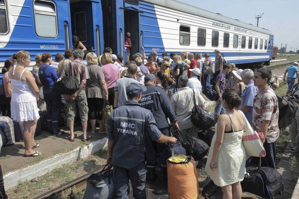UN: 22.000 stanovnika Donjecka i Luganska izbeglo u proteklih pet dana!