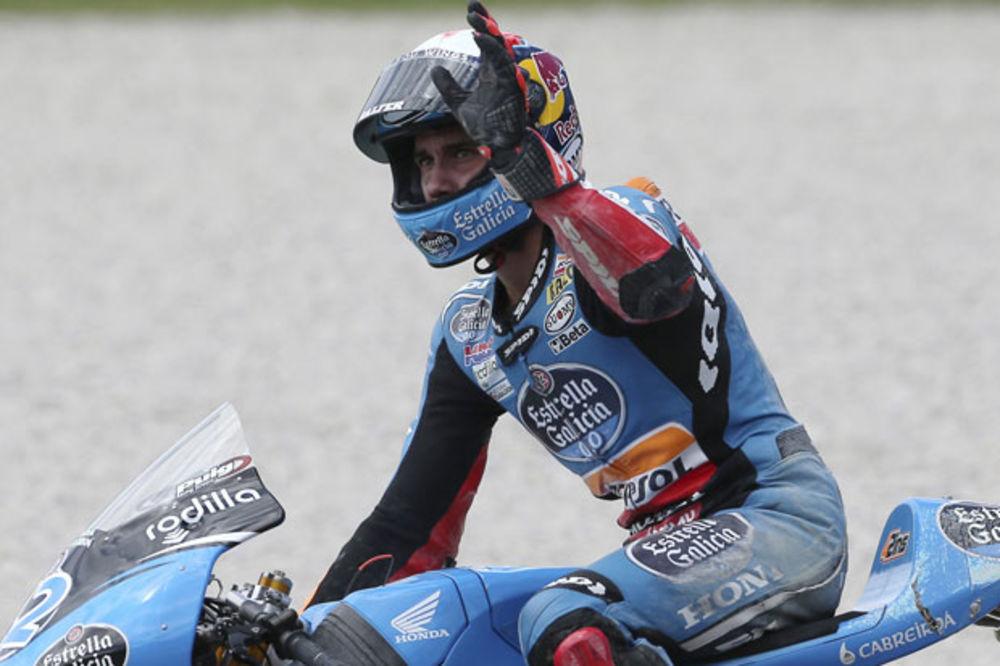 (VIDEO) GLUPOST GODINE U MOTO GP: Slavio pobedu krug pre kraja trke, a onda završio kao 9.