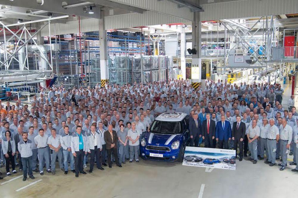 Magna iz Graca ove godine isporučila milioniti   BMW sklopljen u ovoj fabrici