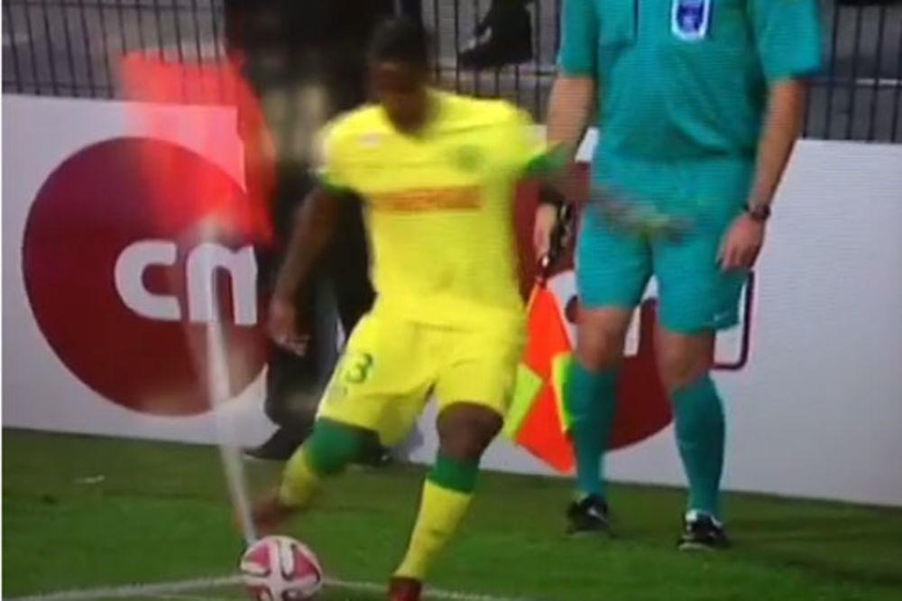 (VIDEO) PROCENITE SAMI: Da li je ovo najgore izvedeni korner u istoriji fudbala?