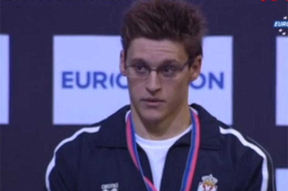 NIKOLIĆ ČESTITAO STJEPANOVIĆU: Dokazali ste da Srbija ima najboljeg plivača evropskog kontinenta