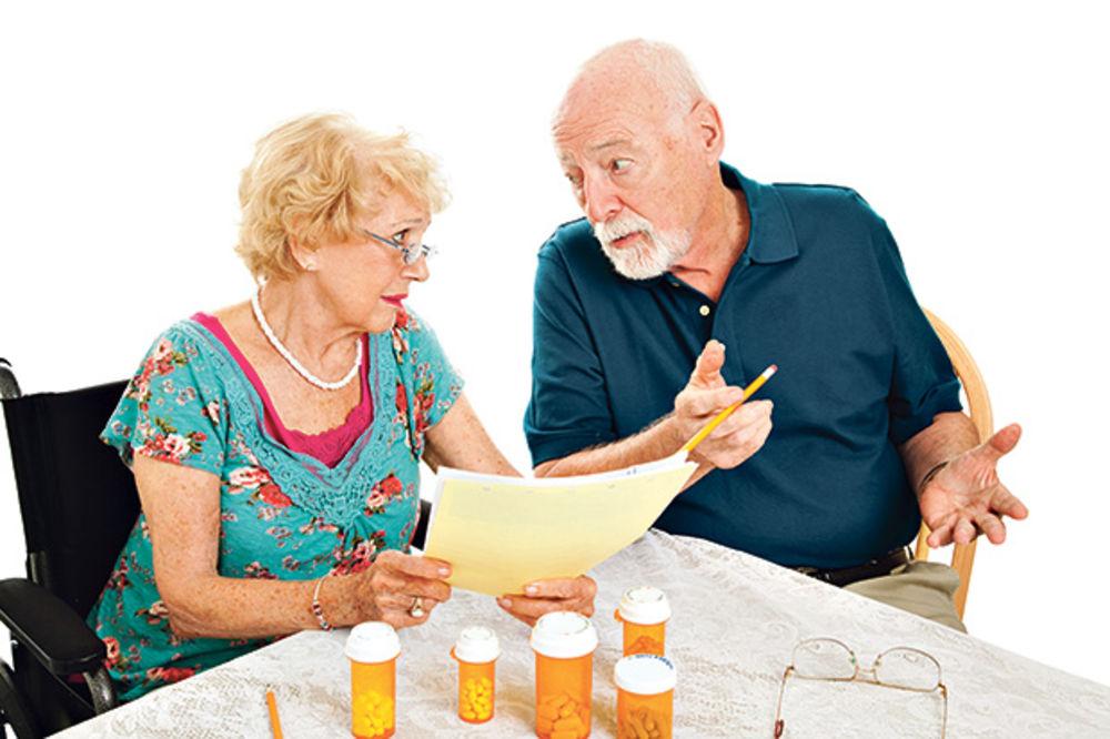 Penzije iznad 30.000 niže za minimum 10 odsto