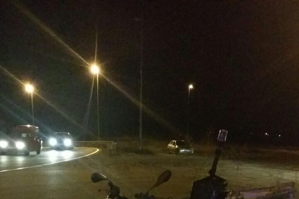 POVREĐEN POLICAJAC U NS: Motorom sleteo s puta i zabio se u ogradu!