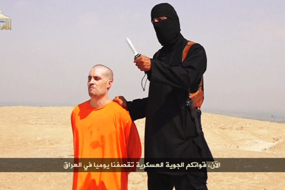 U rukama koljača: Poslednji trenuci Džejmsa Folija, Foto Reuters