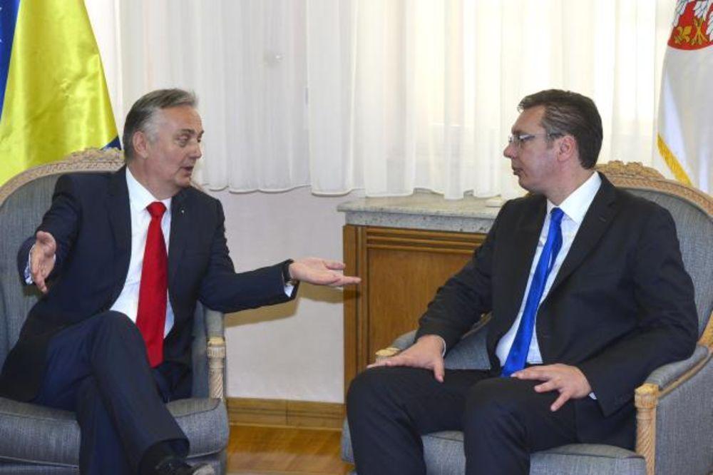 Vučić i Lagumdžija  o zajedničkim projektima Srbije i BiH