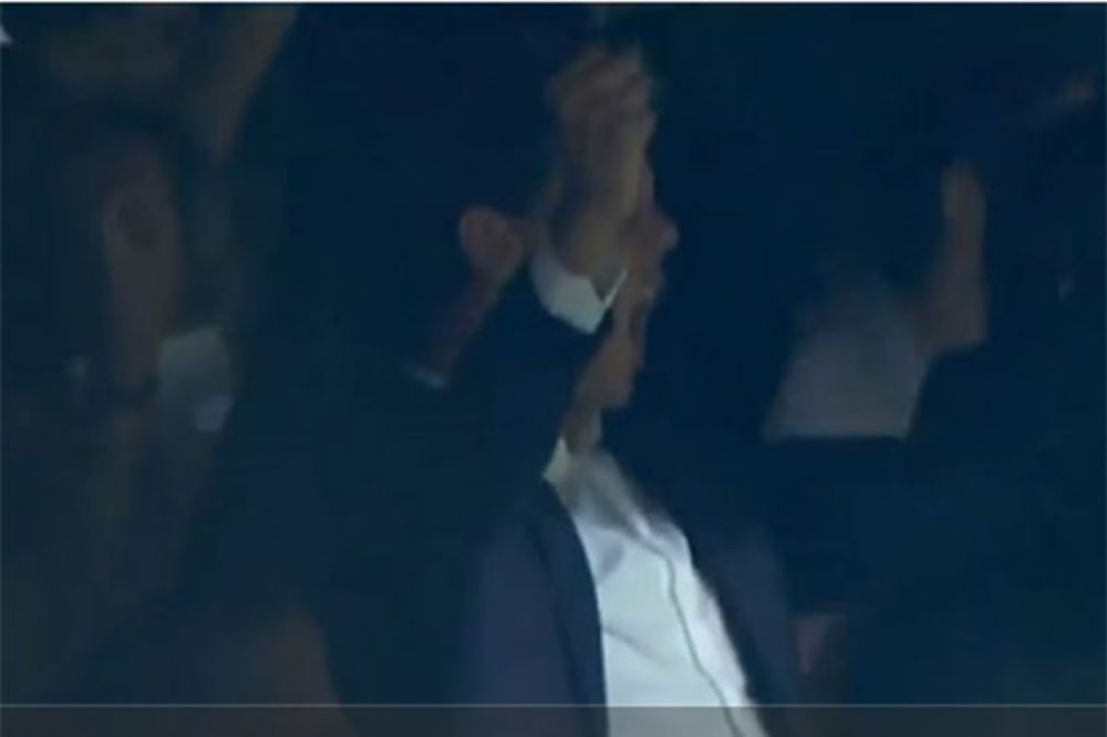 (VIDEO) VELIKI MADRIDISTA: Pogledajte kako se Rafael Nadal burno radovao golu Rodrigeza