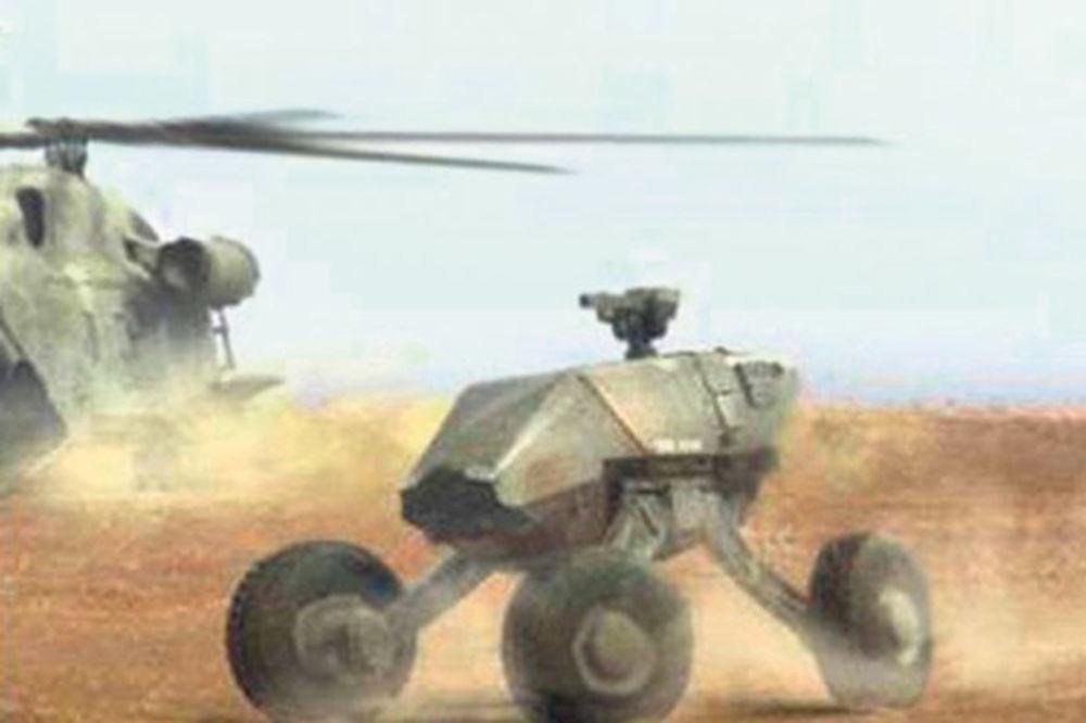 Razvijeni pametni i nevidljivi tenkovi!