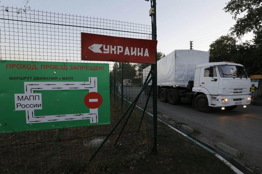 UŽIVO DAN 185 STIŽE POMOĆ: Ruski konvoj na ukrajinskoj carini, oborien ukrajinski suhoj