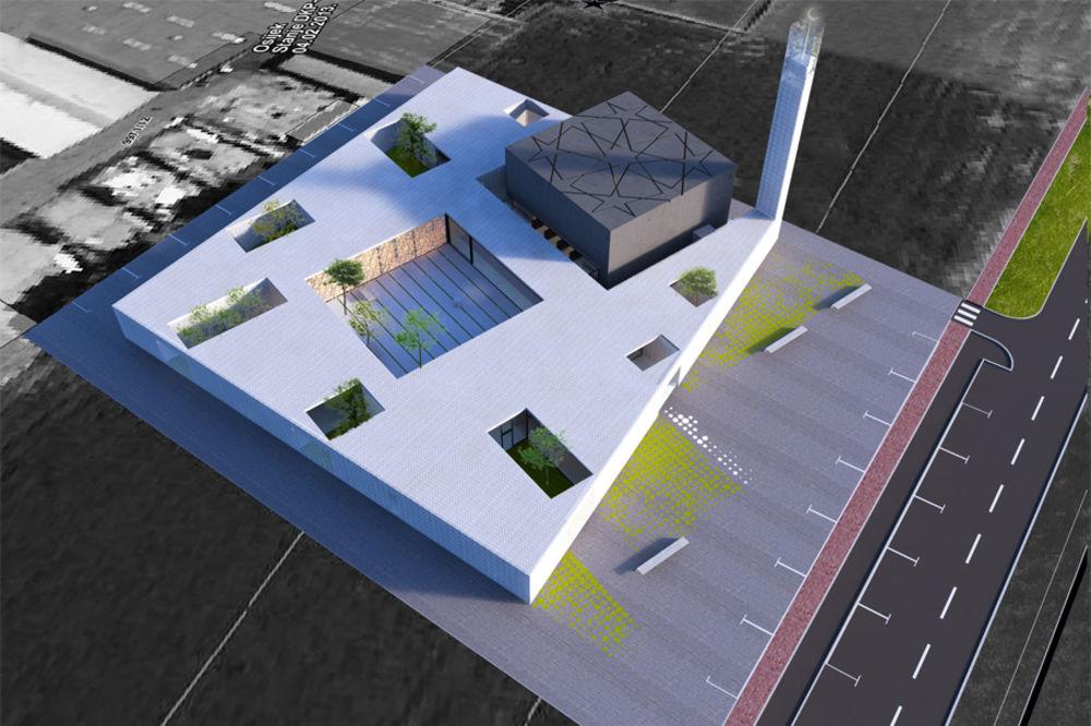 VEĆA OD ZAGREBAČKE: Ovako će izgledati 3 miliona vredna džamija u Osijeku
