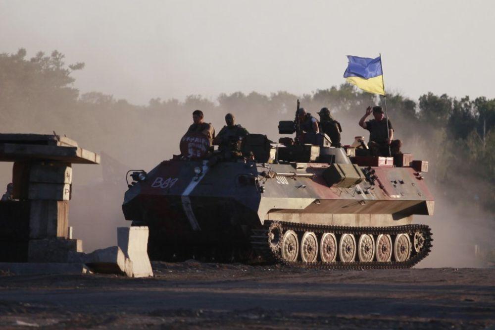 KIJEV: Ukrajinska vojska zaplenila dva ruska oklopna vozila