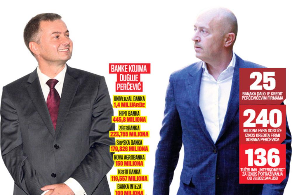 OJADIO AIK BANKU: Goran Perčević prevario Miodraga Kostića za 6,5 miliona evra
