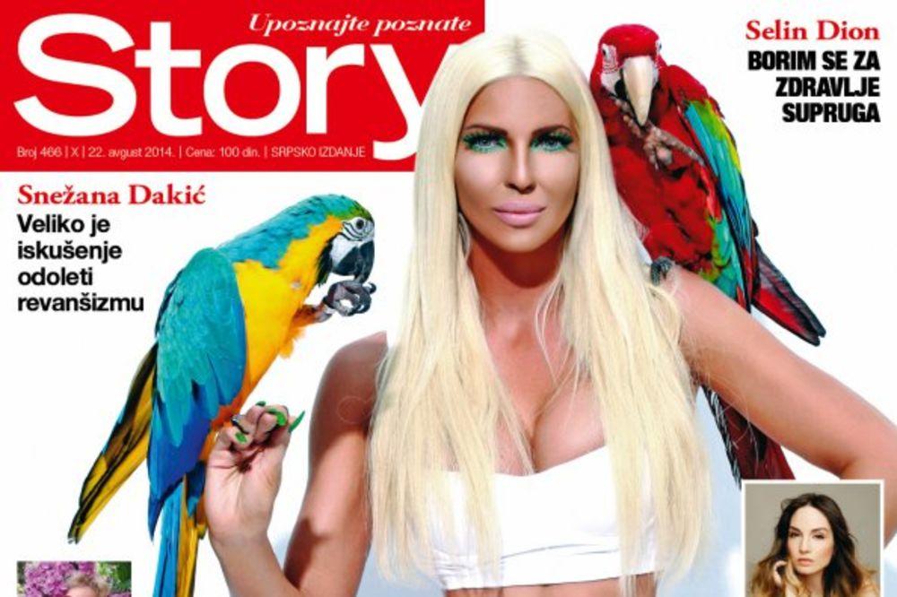 Jelena Karleuša za Story: Uprkos gubitku bebe, veliki sam borac