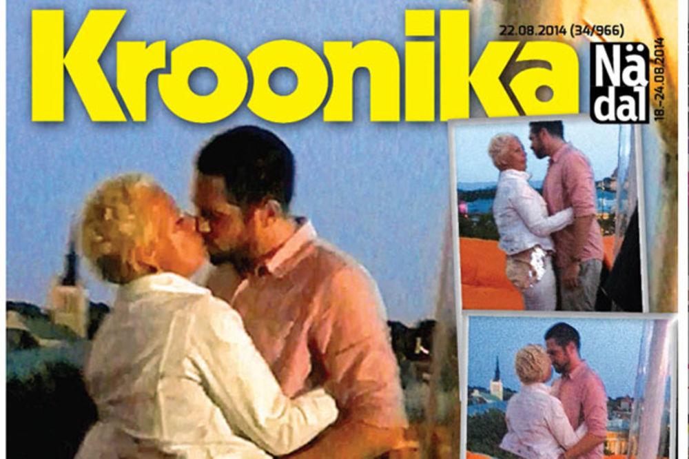 (VIDEO) PUKLA BRUKA: Prva dama Estonije vara muža sa mnogo mlađim tipom!